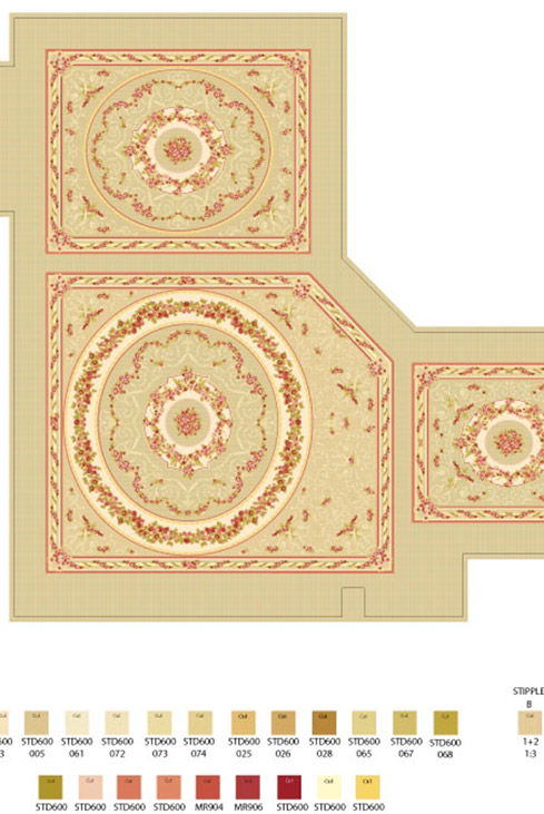 bespoke carpet planning