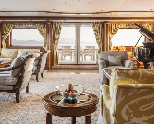 carpet on luxury superyacht