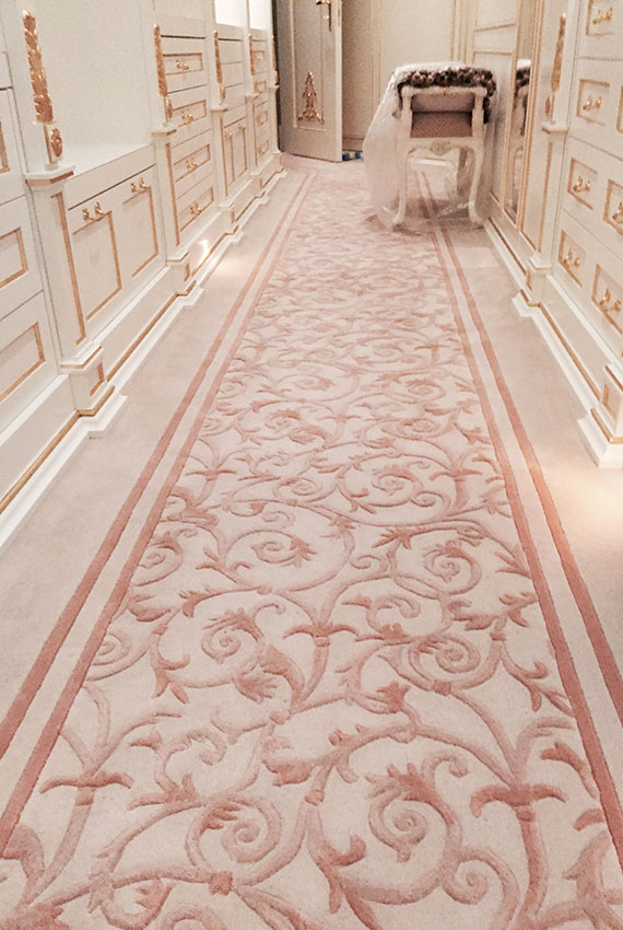 Bespoke Fitted Yacht Carpet Luxury Superyacht Monaco