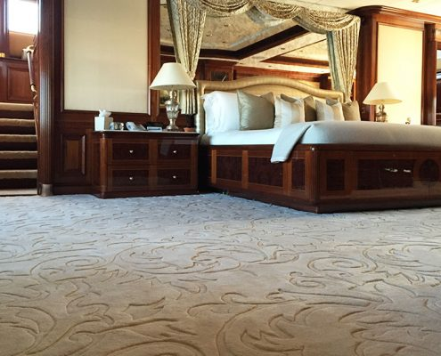 Superyacht carpet
