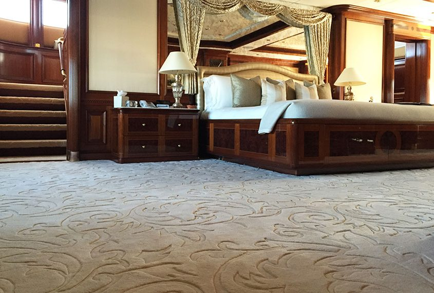Superyacht carpet