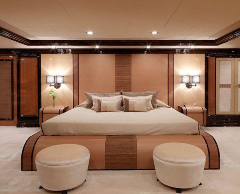 Superyacht cabin carpet