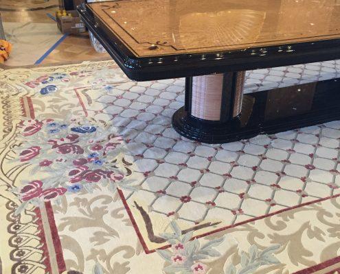 luxury yacht carpet in Florida